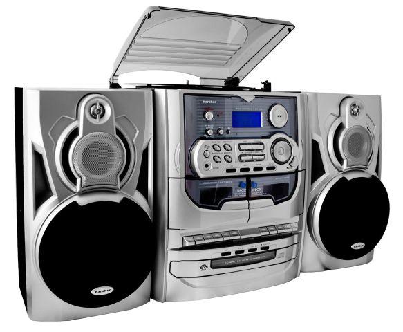 karcher ka 5300 stereoanlage hifi cd wechsler schallplattenspieler kassette ebay. Black Bedroom Furniture Sets. Home Design Ideas