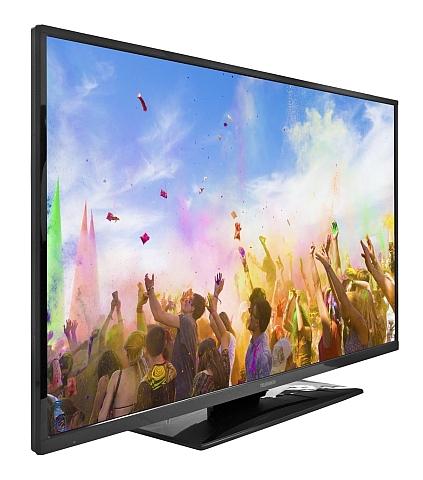 telefunken xf43a300 led fernseher 43 zoll 110cm dvb c t s2 full hd smart tv ebay. Black Bedroom Furniture Sets. Home Design Ideas