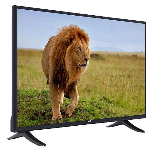 jvc lt 40vg764 led fernseher 40 zoll 102cm full hd tv dvb c t s2 smarttv wlan. Black Bedroom Furniture Sets. Home Design Ideas