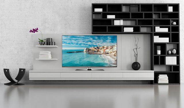 thomson 55fw6765 g led fernseher 55 zoll 140 cm full hd. Black Bedroom Furniture Sets. Home Design Ideas