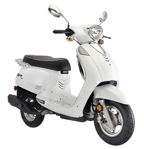 keeway agora roller 25 km h mofa 50 ccm motorroller wei. Black Bedroom Furniture Sets. Home Design Ideas