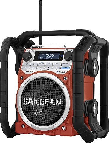 sangean u 4 baustellenradio bluetooth dab digitalradio outdoor radio rds aux ebay. Black Bedroom Furniture Sets. Home Design Ideas